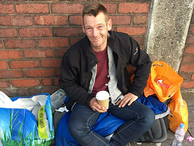 Homeless project volunteer reflections